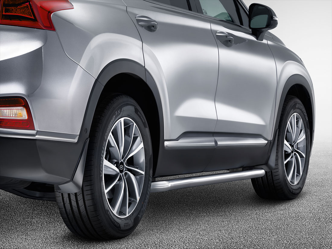 Hyundai SANTA FE - Rear Mud Guard Kit Santa Fe 2019