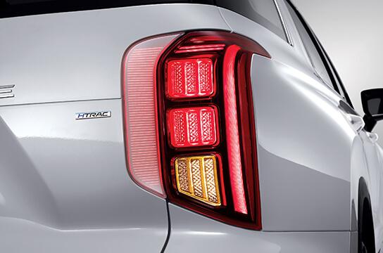 palisade lx2 design posterior accordion led posterior combination lamp original