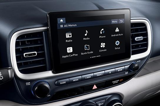 venue qx convenience 8inch display audio system original