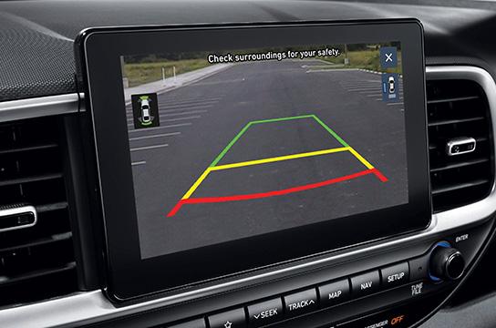 venue qx safety rear vew monitor original